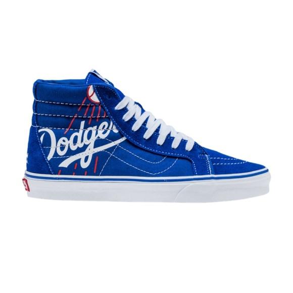 vans men's old skool mlb dodgers shoes